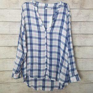 NWT Kenneth Cole Reaction Charley Plaid Shirt XL